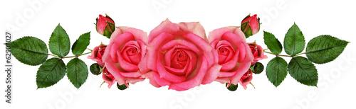Staande foto Lente Rose flowers arrangement