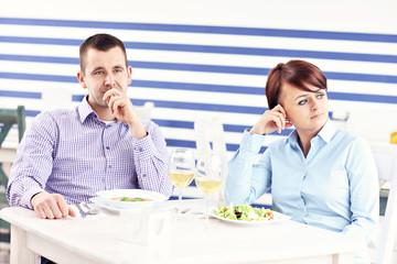 Argument in a restaurant