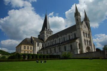 Abbaye Saint-Georges de Boscherville, Normandie