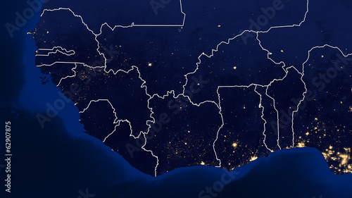 West Africa - Night - 02