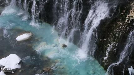 美瑛町白ひげの滝