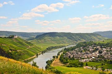 Pündericher Marienburg Mosel Fähre Pünderich Rheinland Pfalz