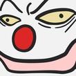 Face clown