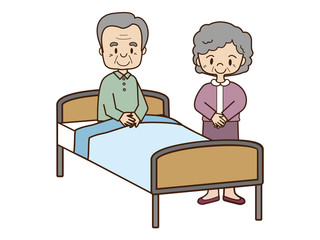 高齢者の世話