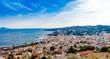 Wonderful view on Naples.