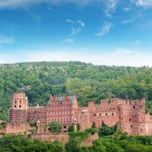 German Hohenschwangau Castle in Bavaria