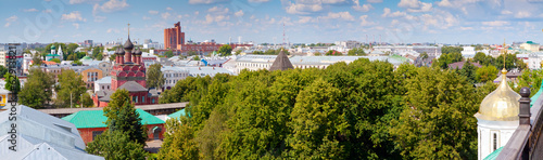 panoramic view of Yaroslavl. Russia