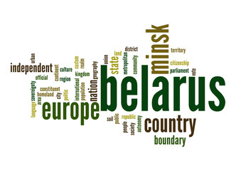 Belarus word cloud