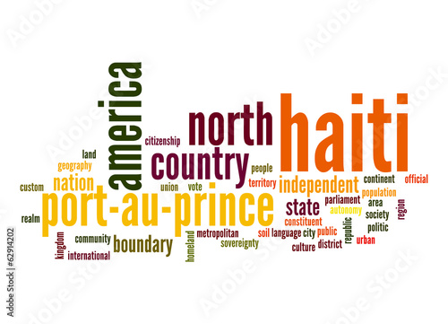Haiti word cloud