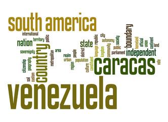 Venezuela word cloud
