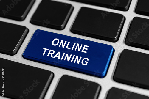 online training button on keyboard