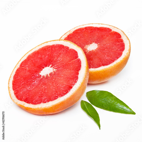 canvas print picture Pink Grapefruit