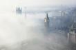 Leinwandbild Motiv Heavy fog hits London