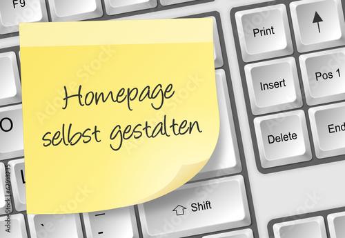 Tastatur - Homepage selbst gestalten - 62918235