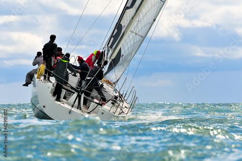 In de dag Zeilen sailing crew
