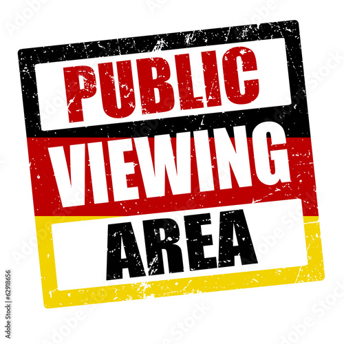 Public Viewing Area