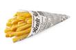 Leinwandbild Motiv Pommes frites