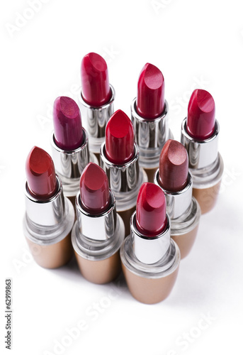 Variation color of lipstick