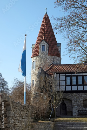 canvas print picture Maderturm in Abensberg