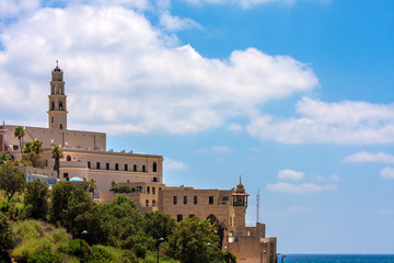 St. Peter's church in Jaffa, Israel.