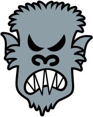 Furious Halloween Werewolf