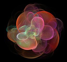 bubbly flower fractal