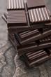 Chopped chocolate