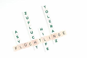 Begriffe der Flüchtlingspolitik in Deutschland