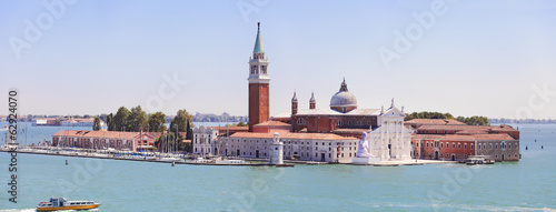 Venice. The island and the Basilica of Saint George