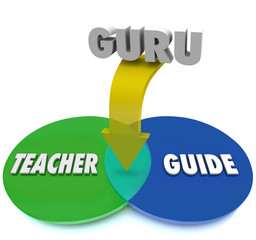 Guru Venn Diagram Teacher Guide Expert Master Overlapping Circle