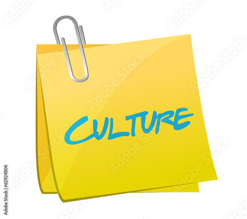 culture post message illustration design