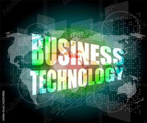 business technology interface hi technology