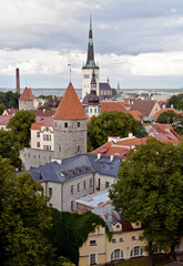 View of old Tallinn