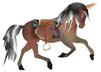 Cavallo unicorno 1