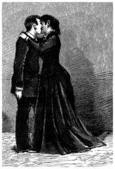 The Kiss - 19th century