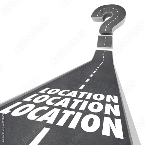 Location Location Location Words Road Destination Navigation