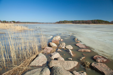 Southern Finland, early spring