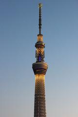 Tokyo sky tree illumination