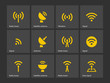Radio Tower icons.