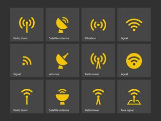 Radio Tower icons.