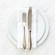 Vintage place setting