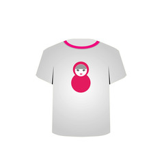 T Shirt Template-Matryoshka doll