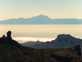 Roque Nublo auf Gran Cnaria und Teneriffa