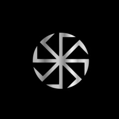 Slavik religion- The Kolovrat symbol