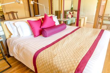 Bedroom decoration modern design in thai style