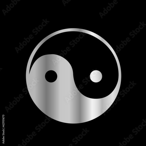 Taoism- Daoism religious icon- Ying and Yang