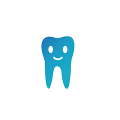 Tooth logo with a smiling expression