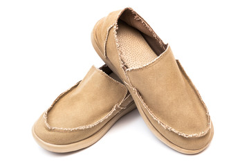 textile new moccasins