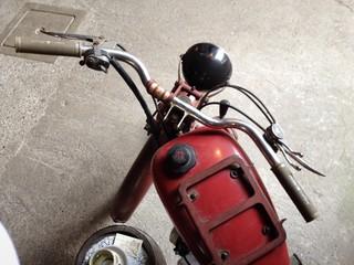 vecchia motocicletta