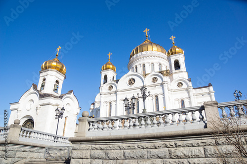 Spring in Moscow - Cathedral of Christ the Savior